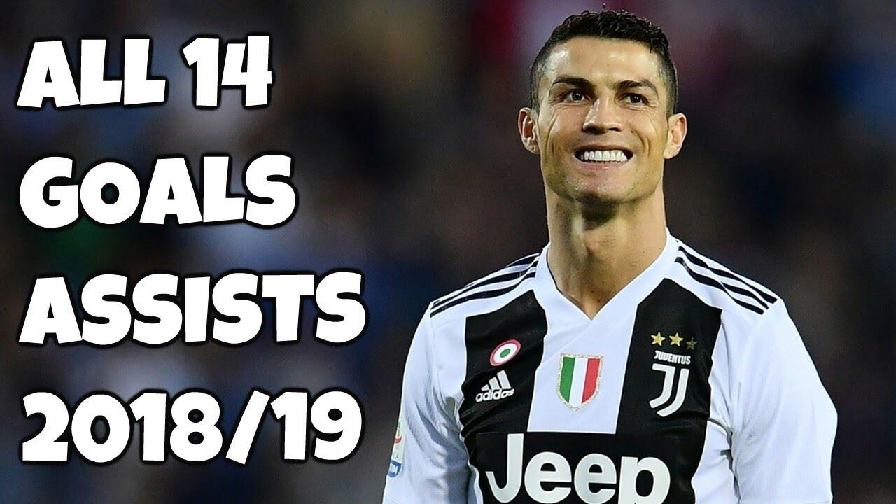 Download Cristiano Ronaldo All 14 Goals & Assists - Juventus 2018/19