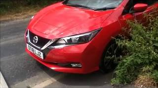 Nissan Leaf 2018 -  Unboxing a fully electric car. thumbnail
