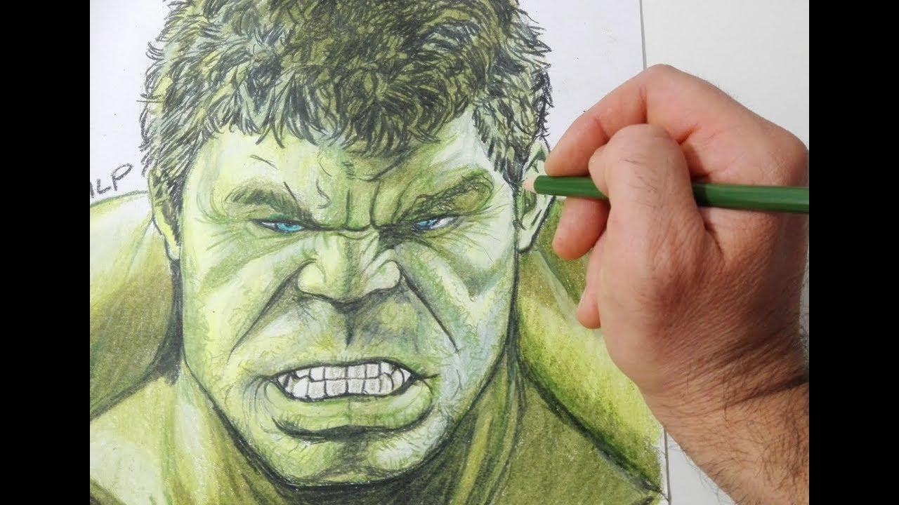 Come Disegnare Lincredibile Hulk Youtube