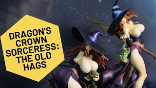 Unboxing #DragonsCrown 1/7 #Sorceress Figure from OrchidSeed and Comparison