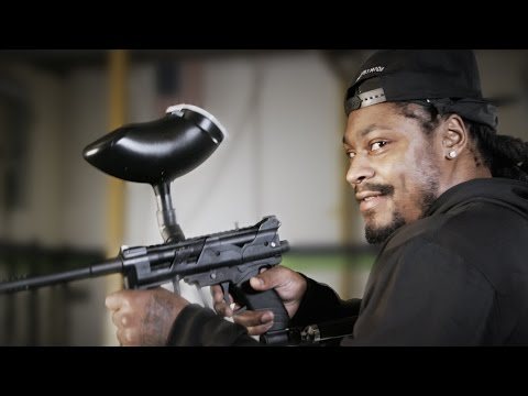 Marshawn Lynch Invites You to Play Paintball // Omaze