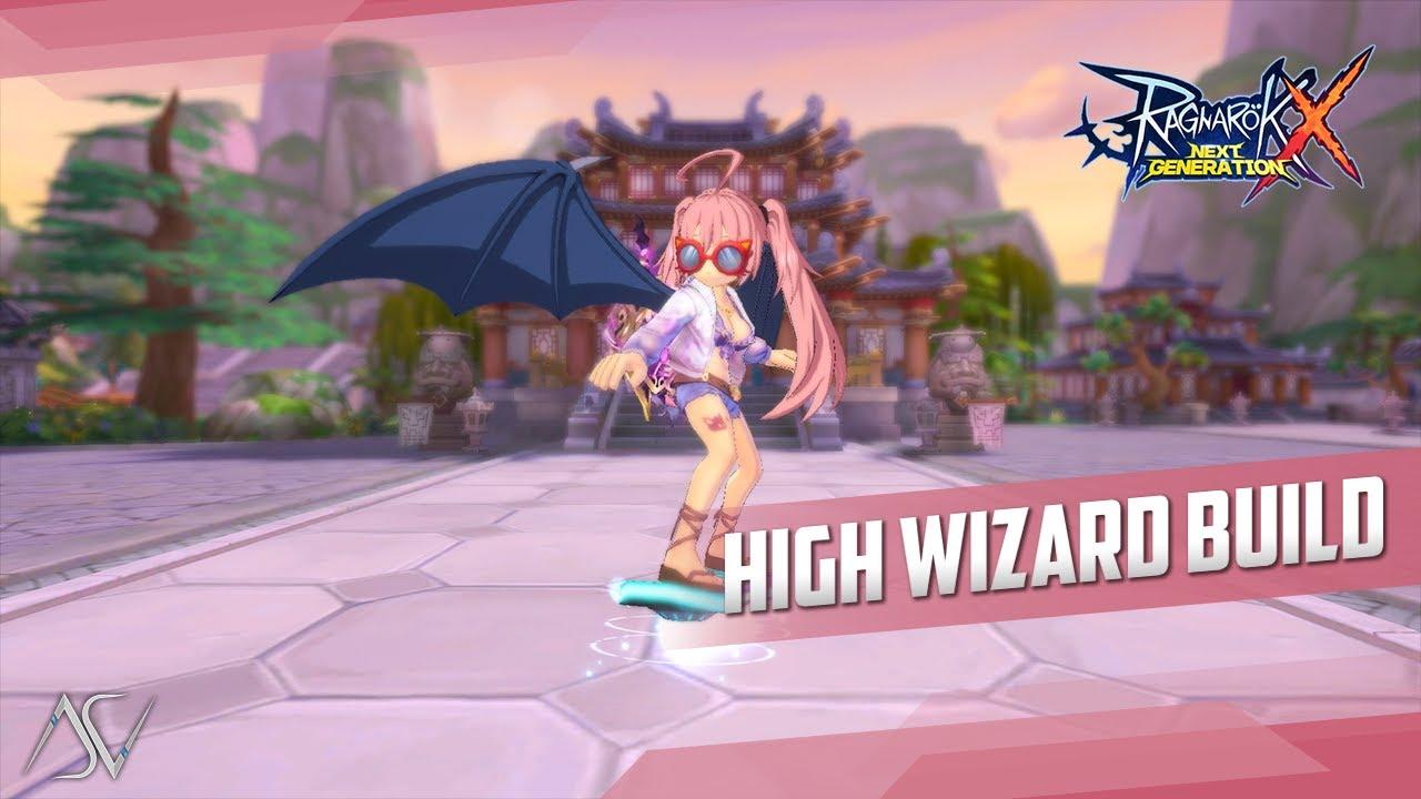 High Wizard 1H F2P Build (ROX) - White \u0026 Blue Equipment Combination!