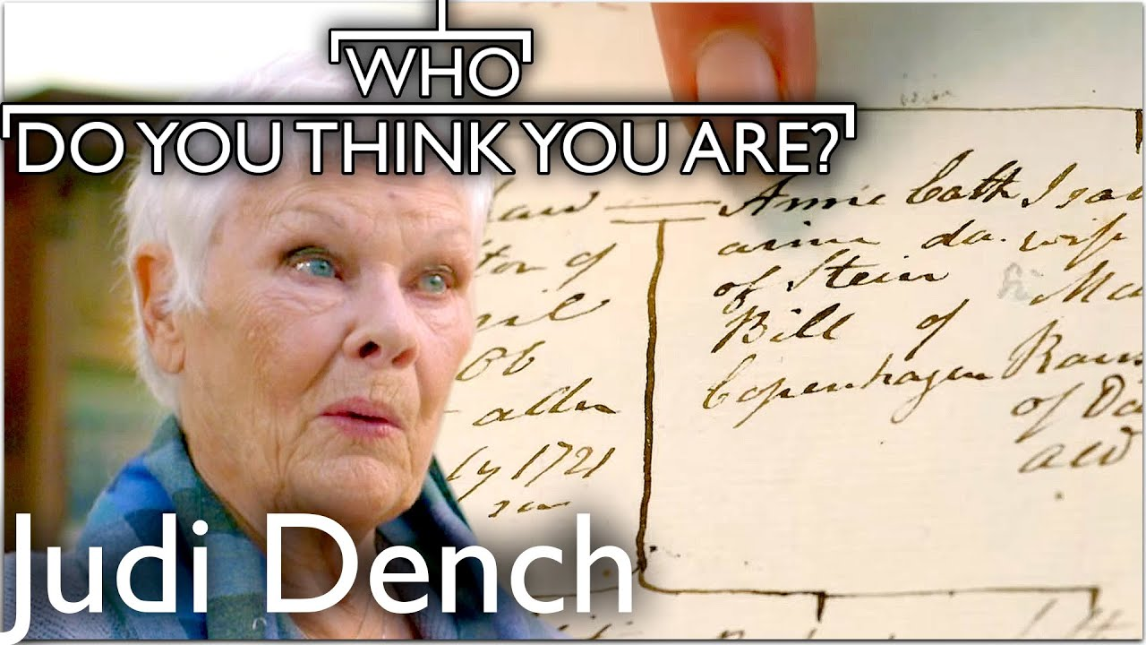 Download Dame Judi Dench Amazed By Danish Roots | Who Do You Think You Are