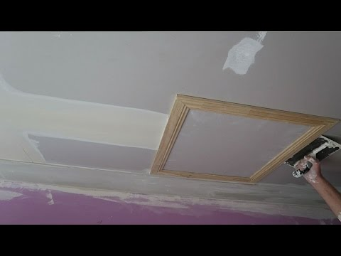 Plaster and Cornice Ceiling