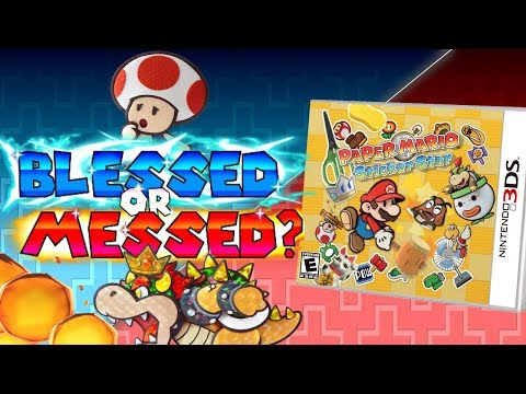 Paper Mario: Sticker Star - Blessed, or Messed?(Ep. 5)
