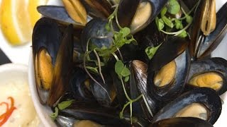 Как приготовить мидии. | How to cook mussels.