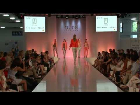 YaYa Catwalk - Pure London August 2012