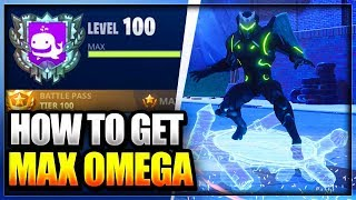 COMMENT À GET MAX OMEGA - LEVEL/RANK UP FAST IN FORTNITE BATTLE Royale (Fortnite Rank up Glitch)
