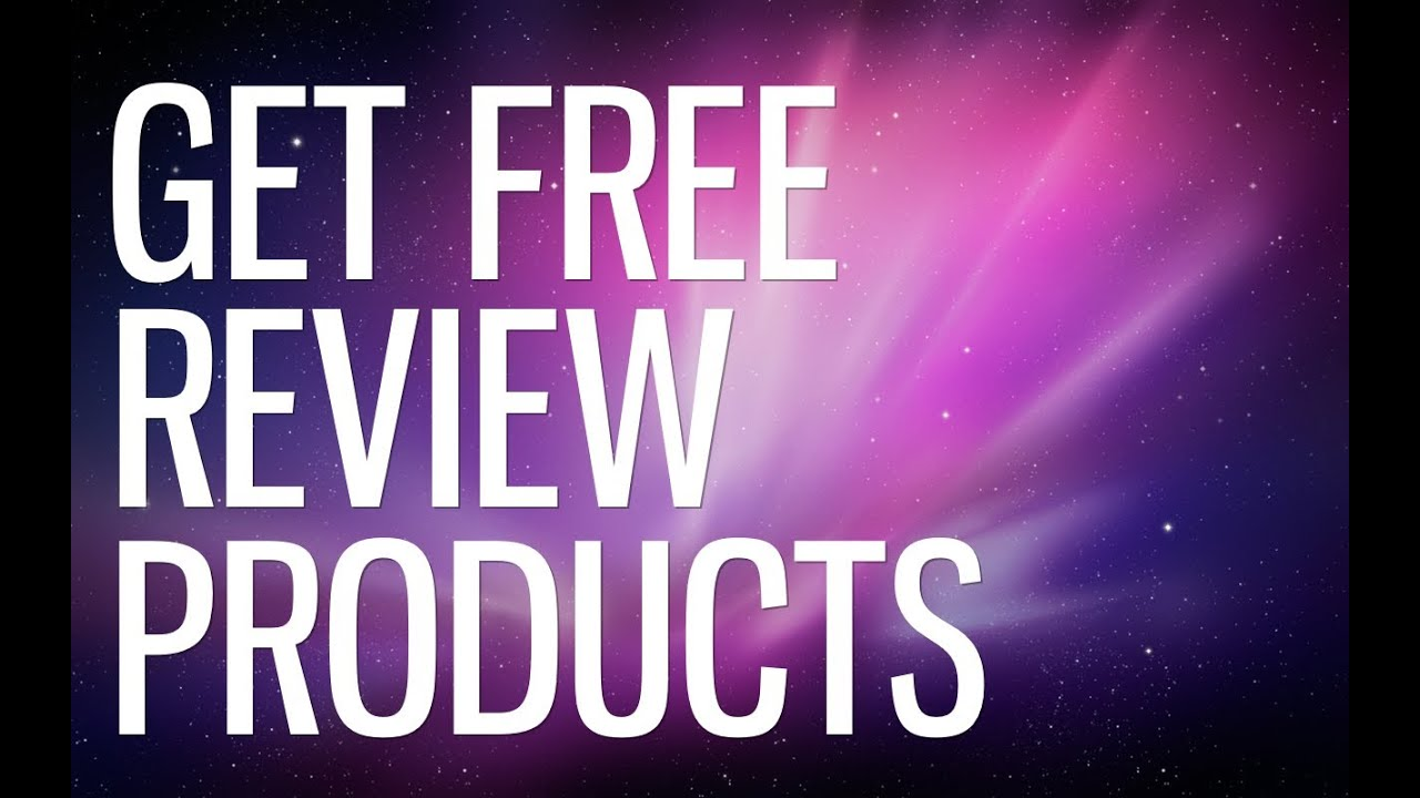 How to review products for free