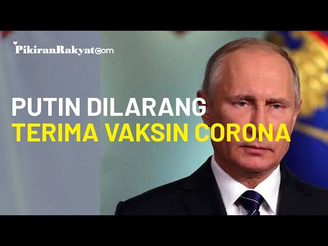 Tak Seperti Putrinya, Vladimir Putin Tidak Diperbolehkan Menerima Suntikan Vaksin Virus Corona