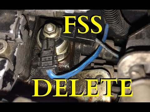 Fuel Shutoff Solenoid (FSS) delete  First Gen Dodge Cummins  YouTube