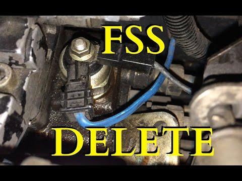 Fuel Shutoff Solenoid (FSS) delete  First Gen Dodge