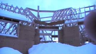 Attic Trusses House Build 9