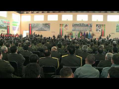 President Karzai Visits NMA