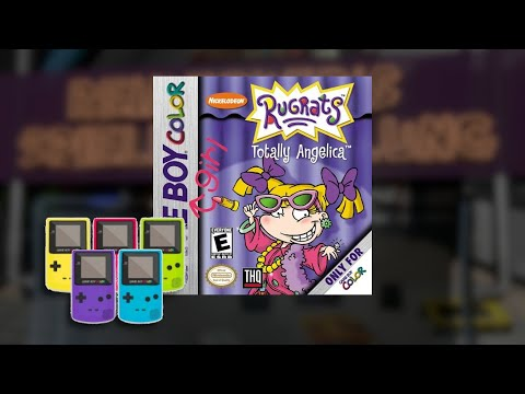 Gameplay : Rugrats: Typisch Angelica [Gameboy Color]