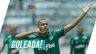 Gols - Palmeiras 7 x 0 Taubaté - Copa SP 2018