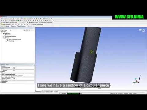 ANSYS MESHING - Mapped & Match Control - Basic Tutorial 8