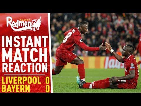 Liverpool 0-0 Bayern Munich | Instant Match Reaction