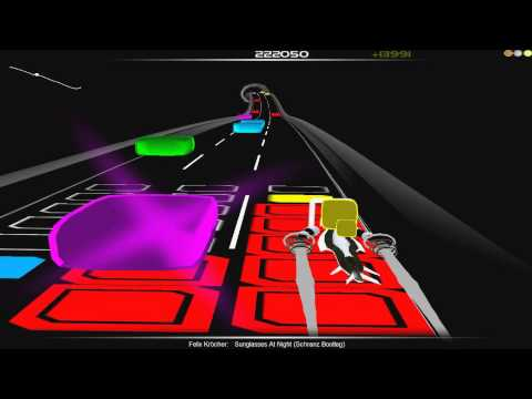 Felix Kröcher - Sunglasses At Night (Schranz Bootleg) [Audiosurf] PoE 1052K