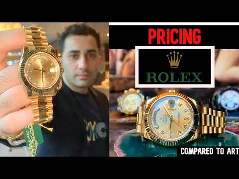ROLEX PRICING COMPARED TO ART
