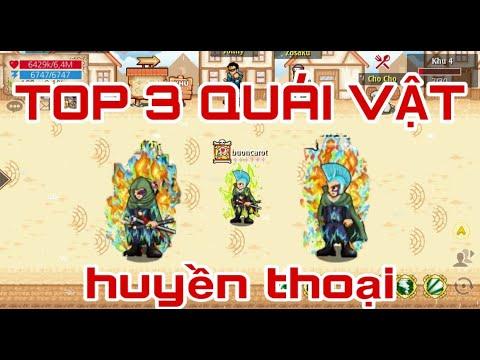"""HTTH - TOP 3 Con Quái Vật Làng Game HTTH, Trụ Cột Của CLAN Huyền Thoại """" Thủy Tộc """""""