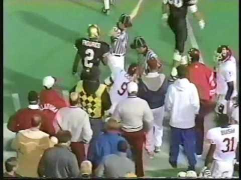 Oklahoma Sooners at #7 Colorado Buffaloes - 1992 - Football