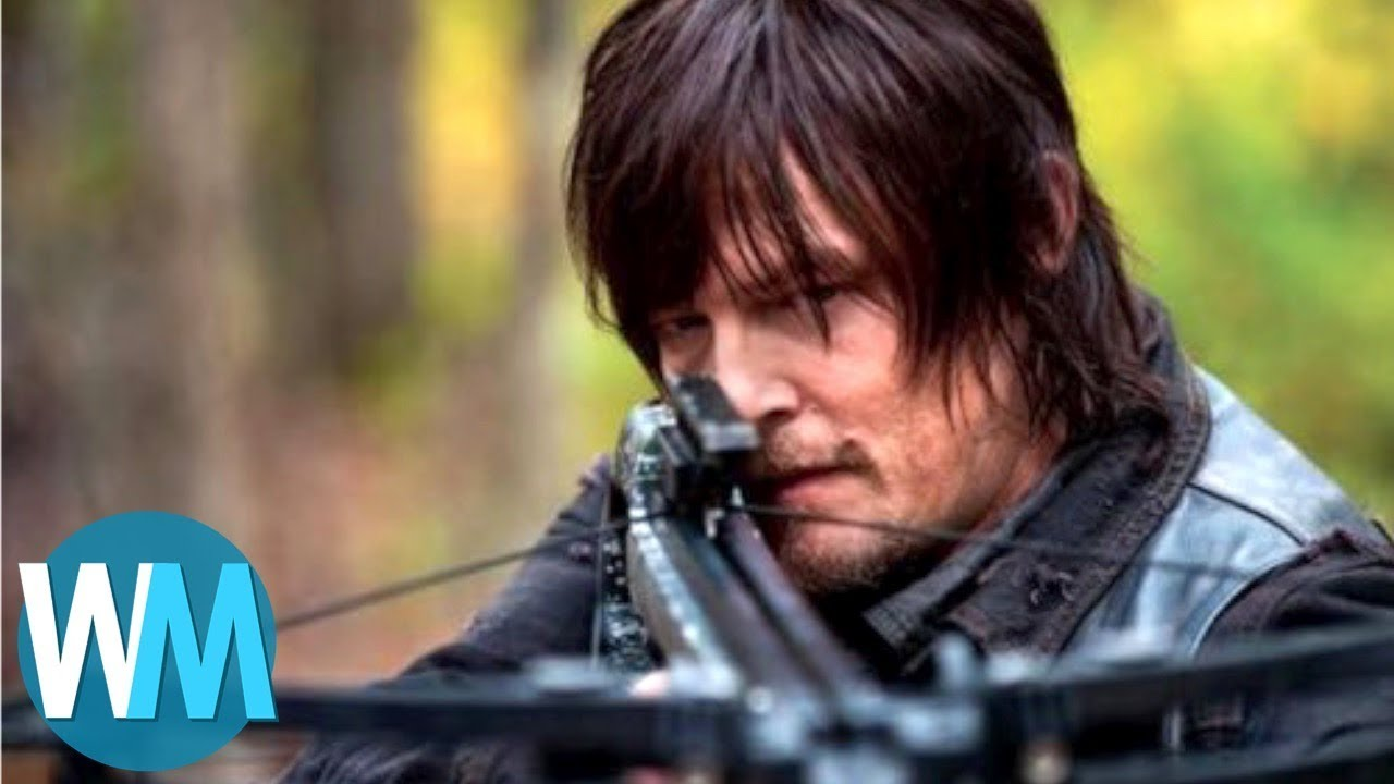 top 10 most badass daryl dixon moments youtube