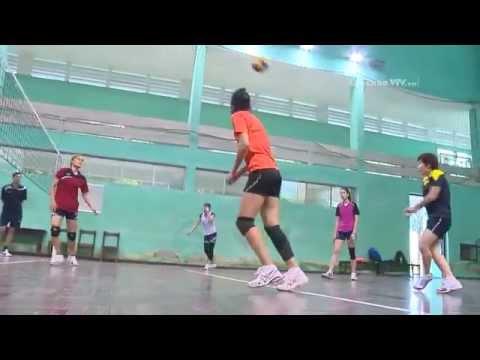 Đội tuyển bóng chuyền nữ Việt Nam tích cực chuẩn bị cho VTV cup 2014