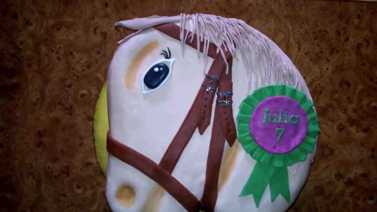 Tort Urodzinowy W Kształcie Głowy Konia Torty 30 Youtube