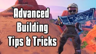 Advanced Building Tips and Tricks The Hardest Building Techniques In Fortnite!