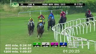 Vidéo de la course PMU PREMIO MAIPO ROYALE 2012