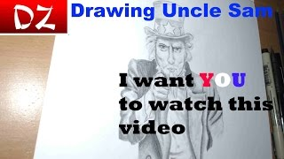 Fourth Of July Special:  Drawing Uncle Sam
