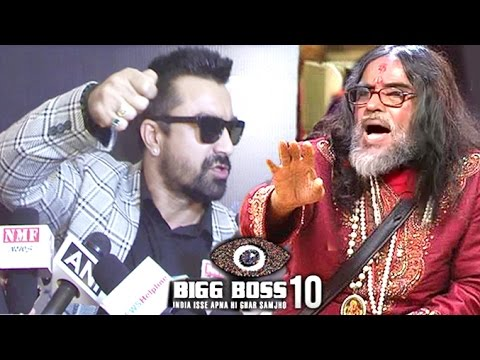 Ajaz Khan's Best REPLY To Om Swami's Madness In Bigg Boss 10