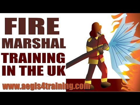 Fire Marshal Training in the UK