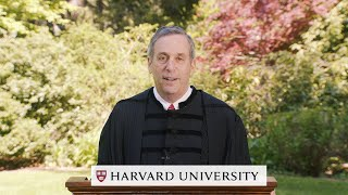 Address by Harvard President Larry Bacow | Honoring the Harvard Class of 2020