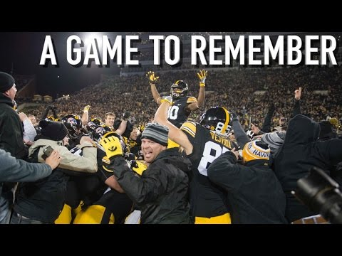 A Game to Remember: Iowa vs. Michigan