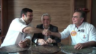 Ariosto Holanda apoia George Valentim