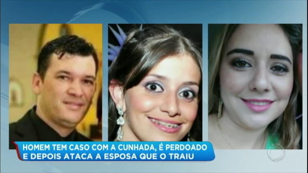 HOMEM TEM CASO COM A CUNHADA, MAS ATACA A ESPOSA AO DESCOBRIR TRAIÇÃO