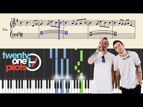 twenty one pilots: March To The Sea - Piano Tutorial + Sheets