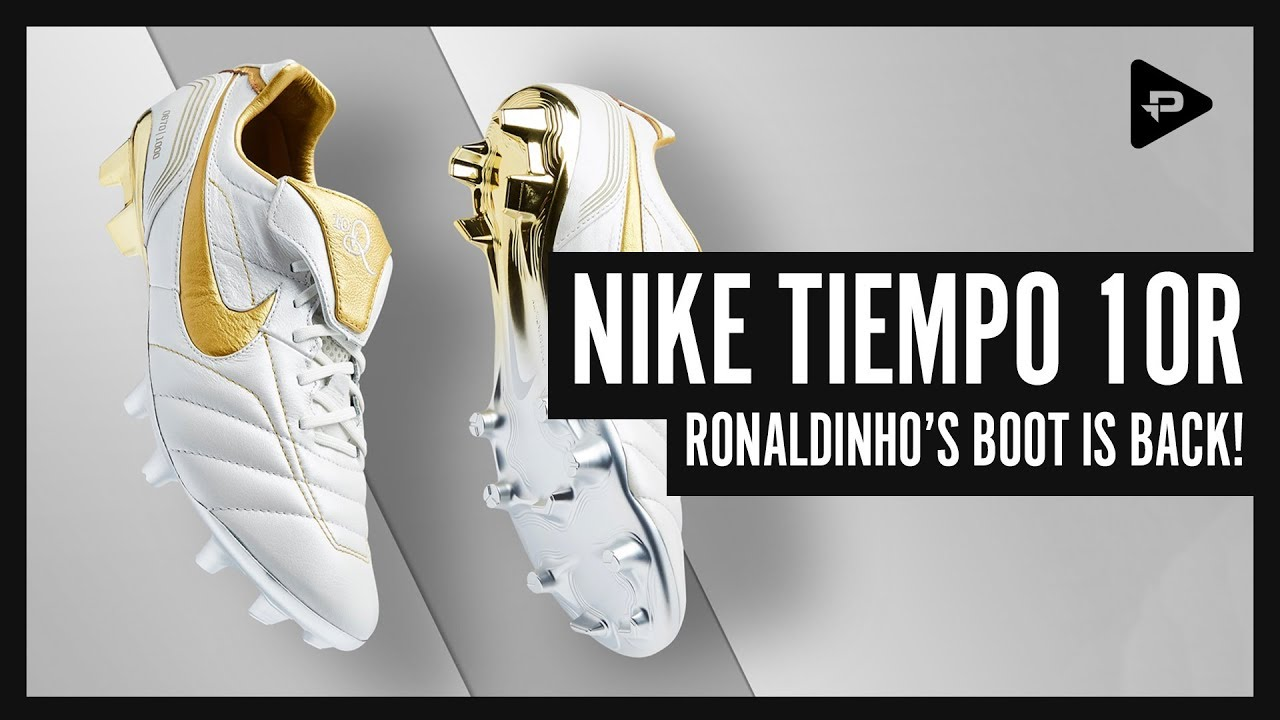 f41ec4544ee Nike Ronaldinho Tiempo Legend 2018 Limited Edition Boots – Unboxing    Closer Look!