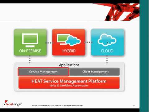 IT service desk with Heat, the best Service Desk and Client Management software