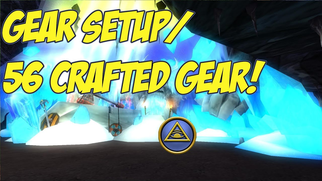 Wizard101 Level 56 Craftable Geargear Setup Wintertusk Chief