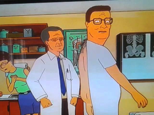 Hank Hill You Have No Ass Youtube