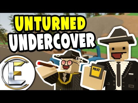 UNDERCOVER POLICE | Unturned Cop RP - Stop Illegal Fake Vodka Deal (Roleplay)