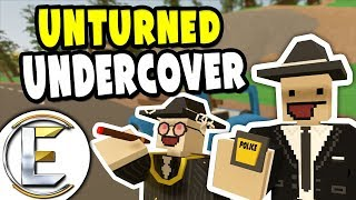 Unturned UNDERCOVER POLICE | Unturned Cop RP - Stop Illegal Fake Vo...
