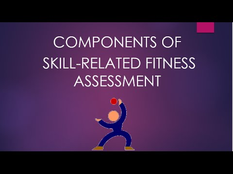 Skill-Related Fitness Assessment
