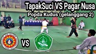 Tapak suci VS Pagar Nusa (Gelanggang2) popda kudus 2018