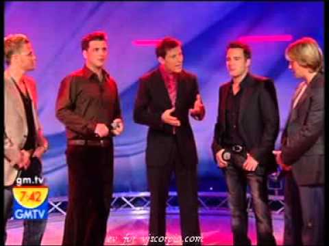 WESTLIFE   INTERVIEW & WHEN YOU TELL ME THAT YOU LOVE ME GMTV TODAY 02 12 05