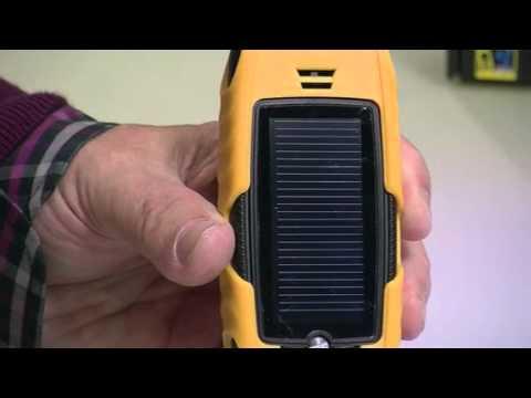 MOBILE Wasser- & stoßfestes Outdoor-Solar-Handy XT-520SUN von simvalley (PX-3355-821)
