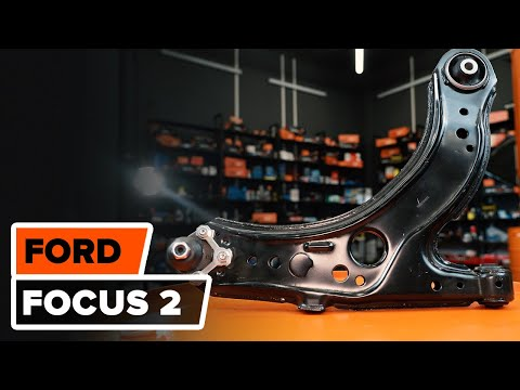 How to replace front suspension arm on FORD FOCUS 2 TUTORIAL | AUTODOC